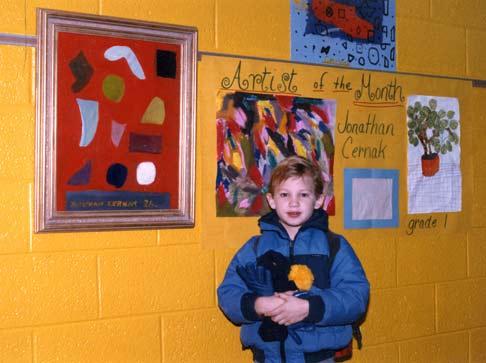 Jonathan Cernak - Artist of the Month