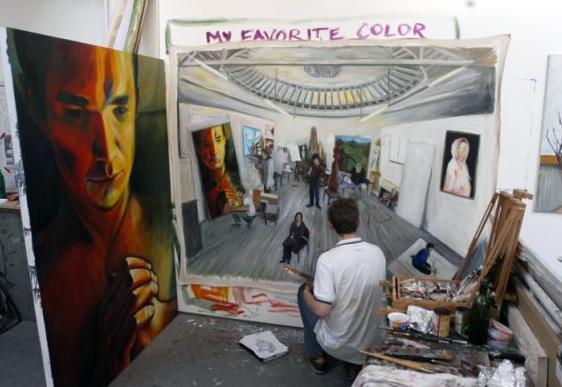 Slade School of Fine Art - Round Room Studio
