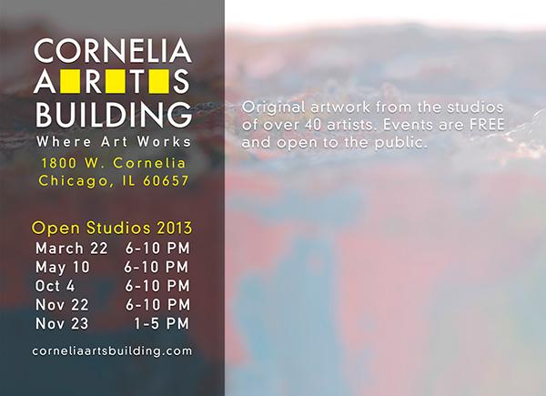 2013 Cornelia Arts Postcard (back)