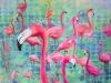 untitled (Flamingos)
